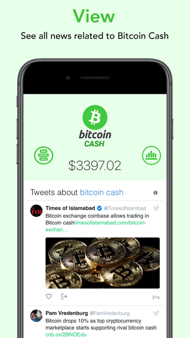 Bitcoin Cash - BCH screenshot two
