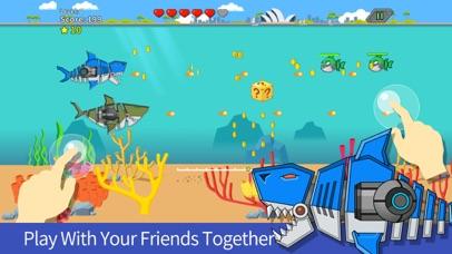 Robot Gun Shark Double Attack screenshot two