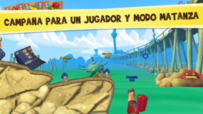 Screenshot for Worms3 in Mexico App Store