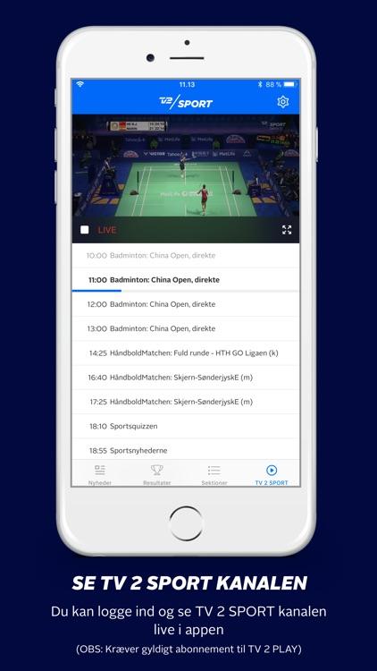 TV 2 SPORT screenshot-4