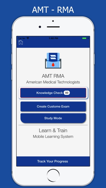 AMT RMA Exam Prep 2018 by Learn & Train