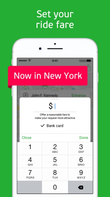 inDriver: Offer your fare, NYC