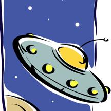 宇宙飞船采集星星 - 宇宙飞船太空科幻游戏