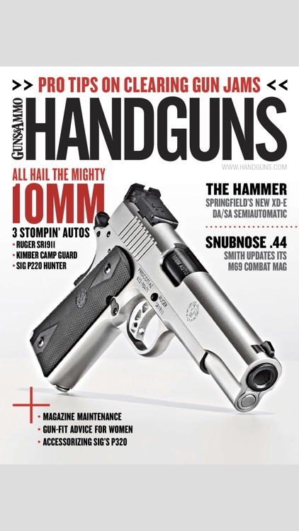 Handguns Magazine screenshot-0