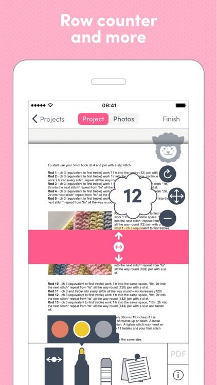 LoveCrochet: Crochet companion screenshot-3