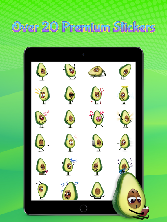 Avocad'oh by Moji screenshot 6