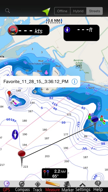 Greece West GPS Nautical Chart screenshot-3