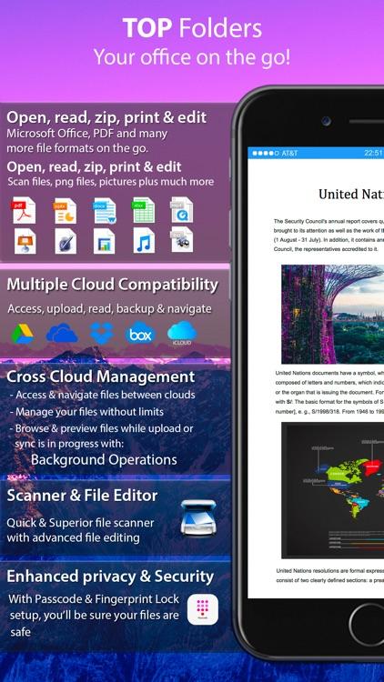 Top Folders Pro - Scanner Plus