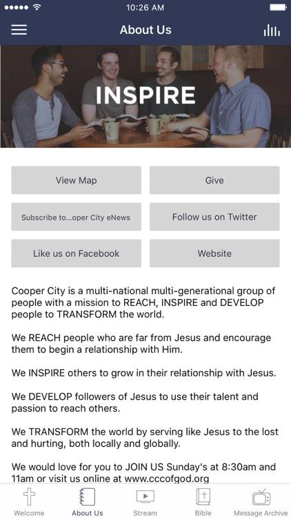 Cooper City Church of God App