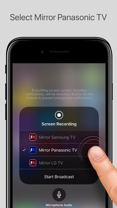 Mirror for Panasonic Smart TV screenshot 3