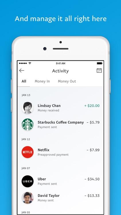 PayPal: Mobile Cash screenshot-4