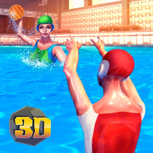 Water Polo Swimming Sports 3D