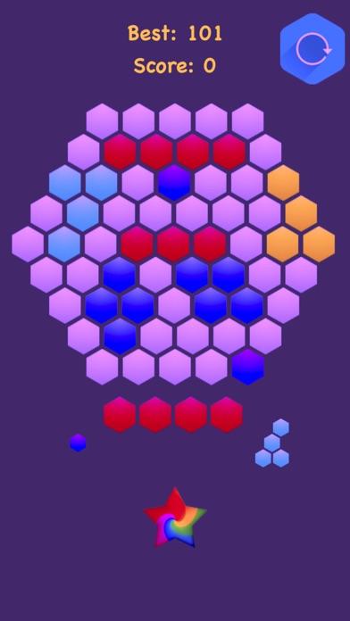 Hexagonal Merge - Premium. screenshot 5
