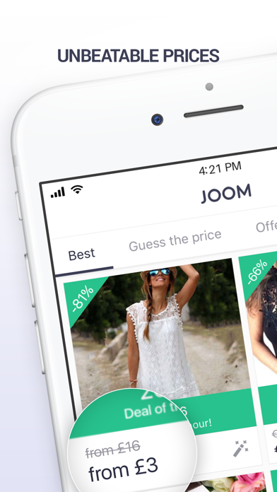Screenshot for Joom. Fast and easy shopping in Belgium App Store