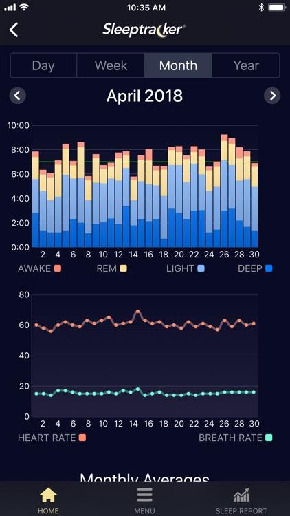 Sleeptracker® screenshot-4