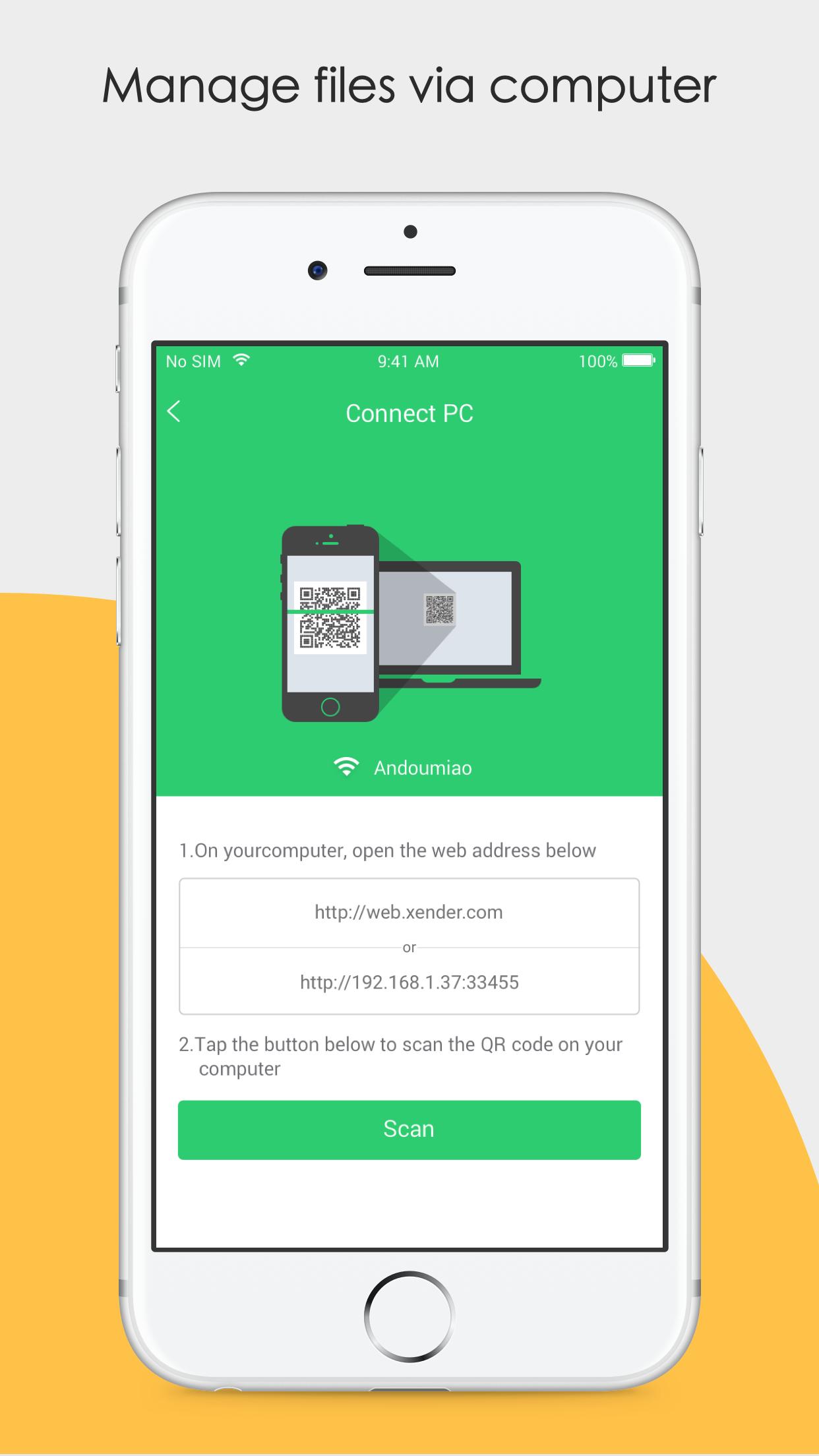 Xender: File Transfer, Sharing Screenshot
