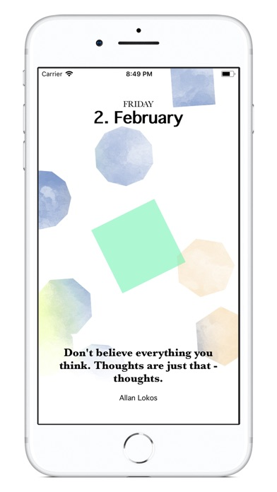 Mindfulness Calendar 2018 screenshot 3