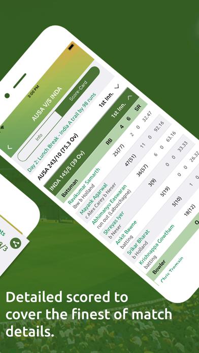 Cricket Live Line screenshot three