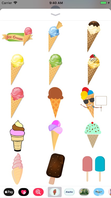 Ice Cream & Popsicle Stickers screenshot-3
