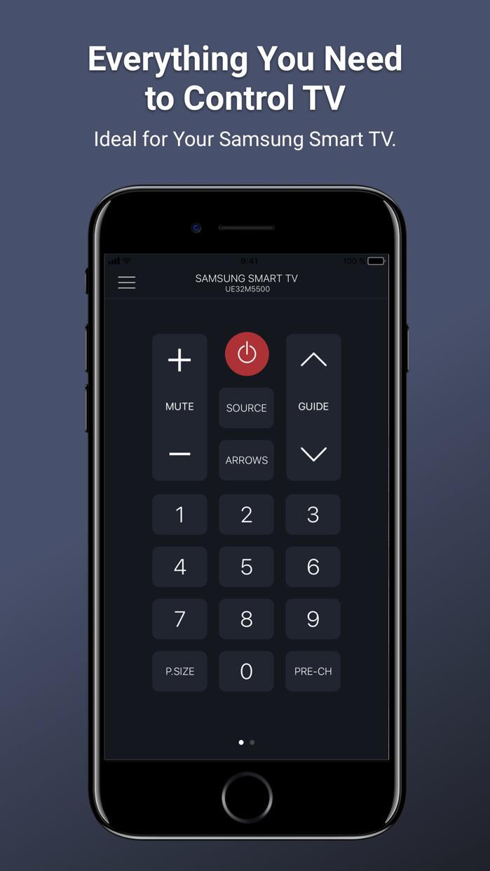 Remotie: remote for Samsung TV Screenshot