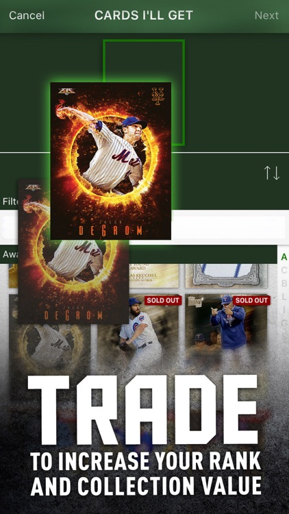 MLB BUNT Baseball Card Trader screenshot-3