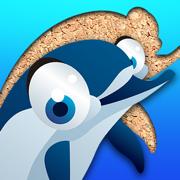 海生动物拼图 漫画