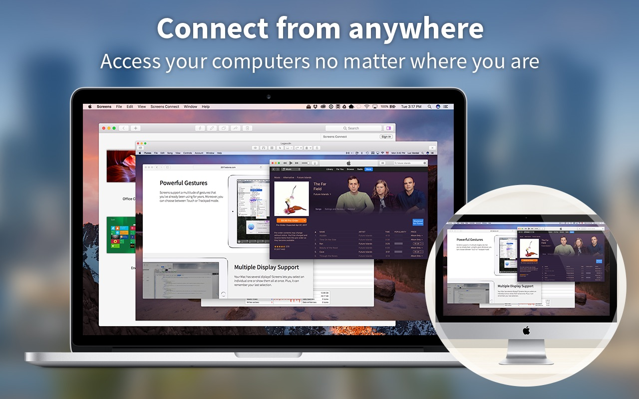 Screens 4 6 7 – Access your computer remotely    macOS Apps