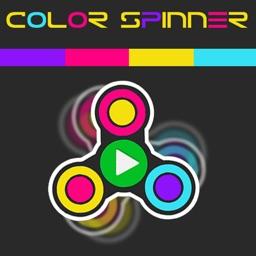 Color Fidget Spinner 2018