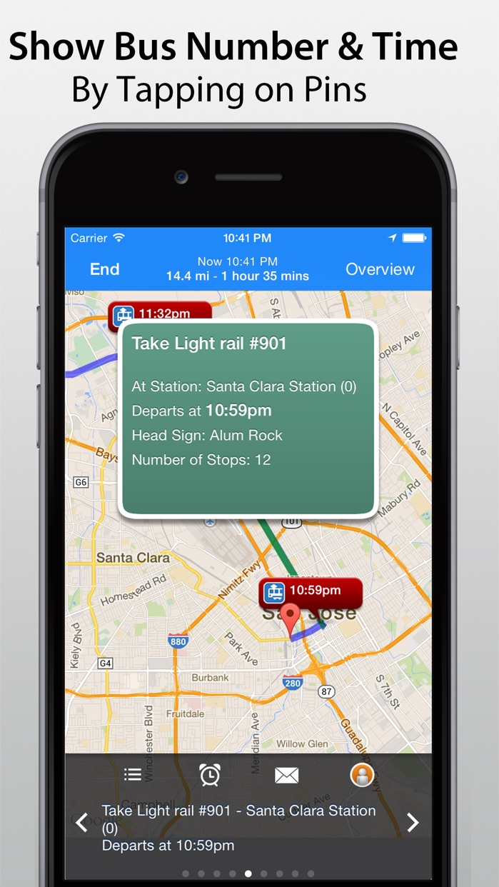 Transit Navigation Screenshot