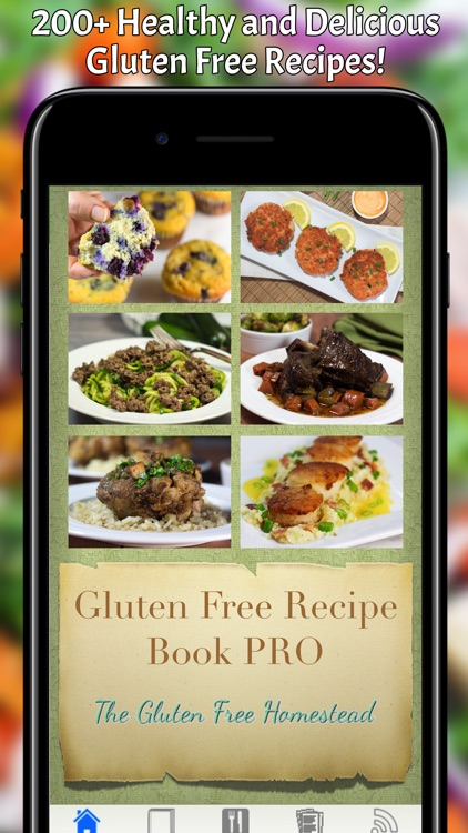 Gluten Free Recipe Book Pro screenshot-0