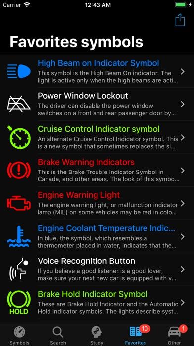 Car Dashboard Symbols App Download App Store Uk Iappbay