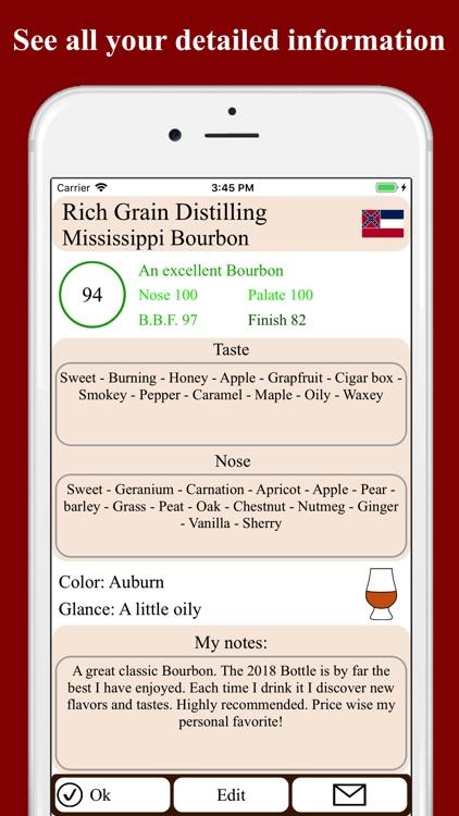 Bourbon Tasting screenshot-3
