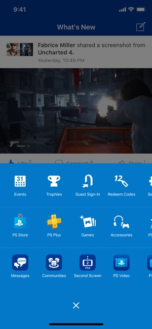 Playstation messenger app