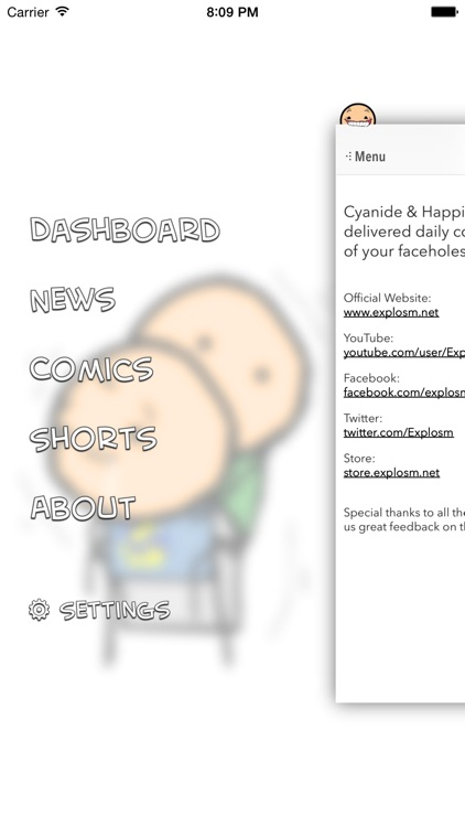 Cyanide & Happiness Lite screenshot-4