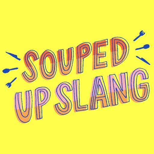 Souped Up Slang Stickers