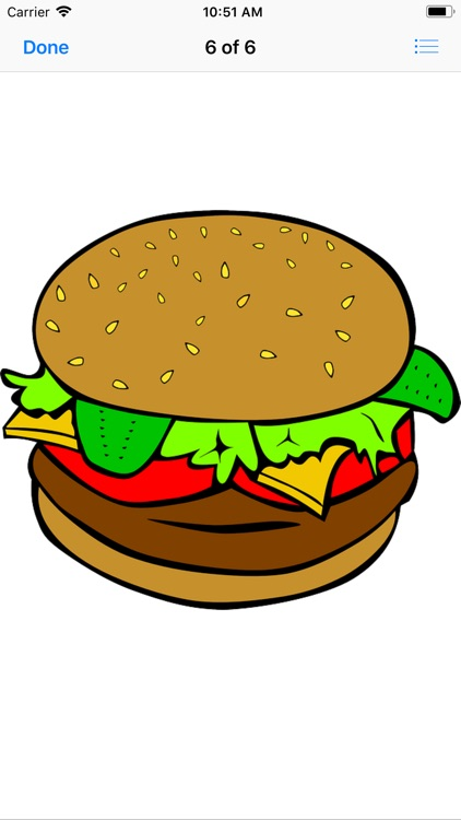 Heavenly Hamburger Stickers screenshot-8