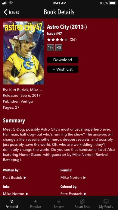 Vertigo Comics review screenshots