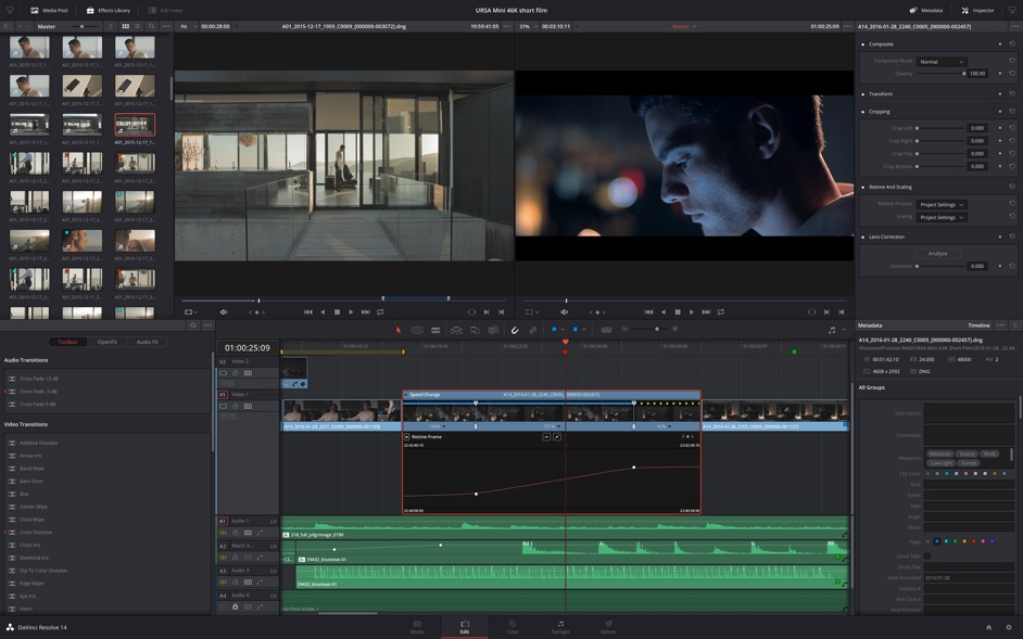 DaVinci Resolve Studio 16 0 – Professional non-linear