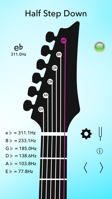 electric guitar tuner app insight download. Black Bedroom Furniture Sets. Home Design Ideas