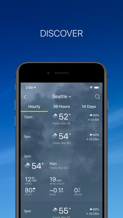Screenshot for The Weather Network in United States App Store