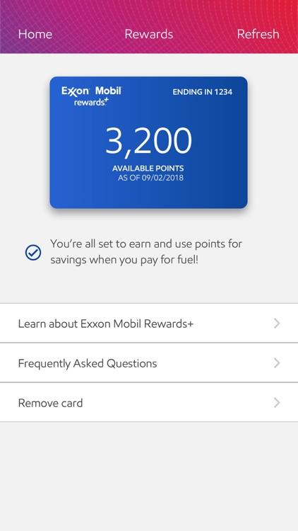 Exxon Mobil Speedpass+ screenshot-5