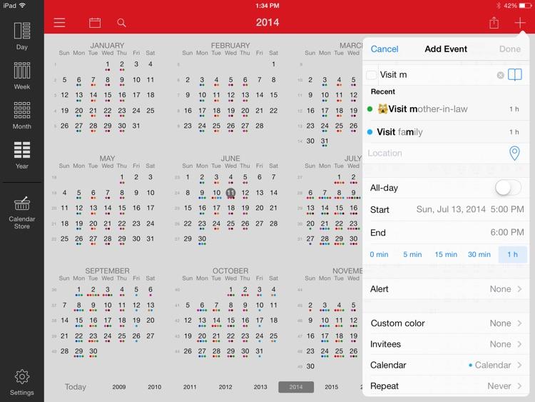 Week Calendar for iPad screenshot-3