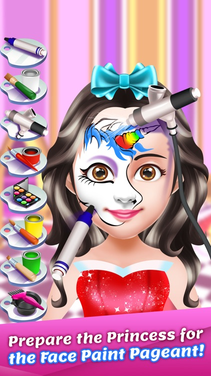 Princess Face Paint Salon