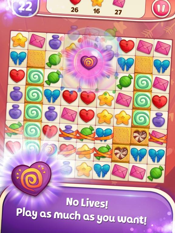 Sweet Hearts Match 3 screenshot 6