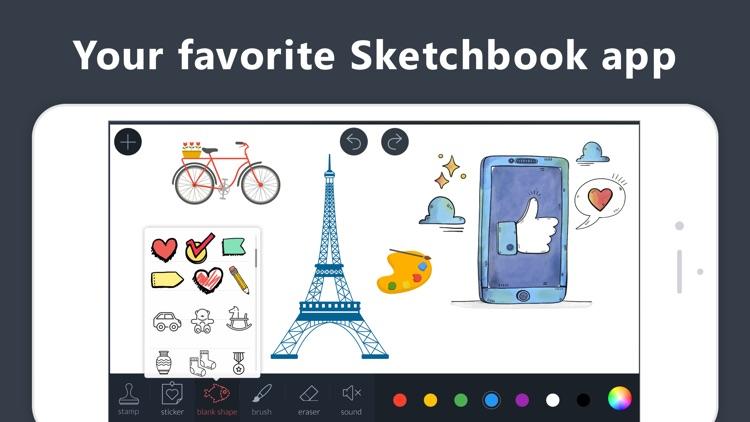 Draw.ing Pad, Doodle Paint Art screenshot-4