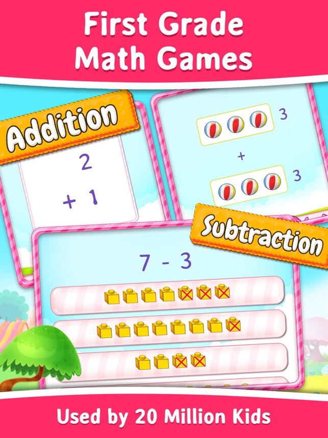 Grade 1 - Fun Math Activities on the App Store