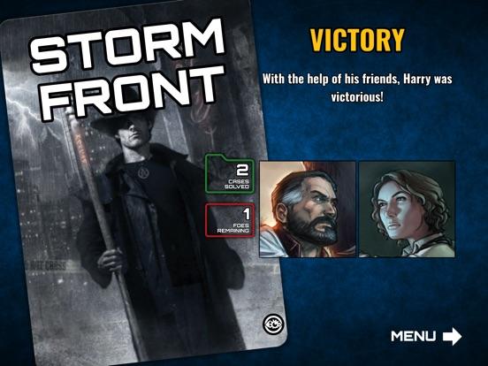 Dresden Files Co-op Card Game Screenshots