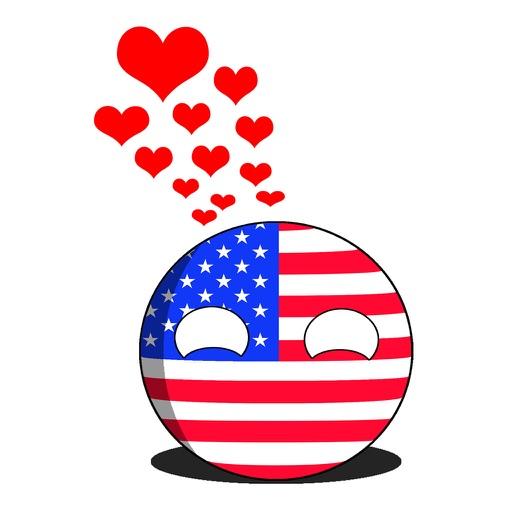 CountryBalls - USA