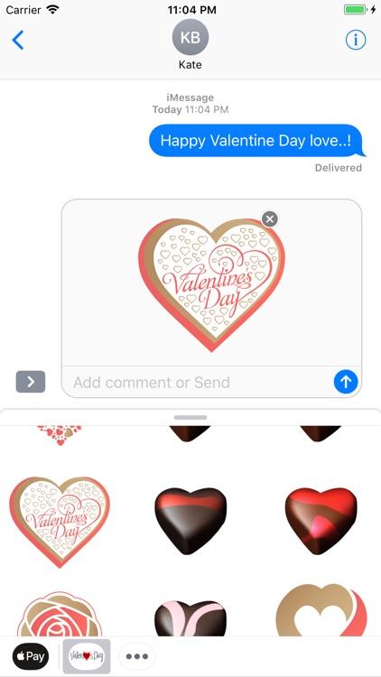 Valentin Love Romantic Sticker