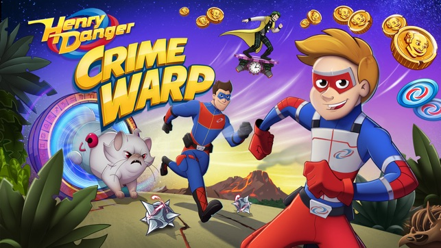 Henry Danger Crime Warp On The App Store